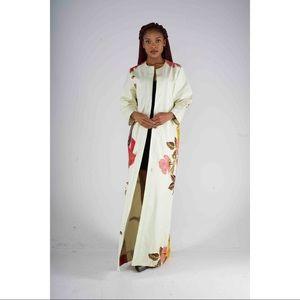 Floral Ankara Kimono
